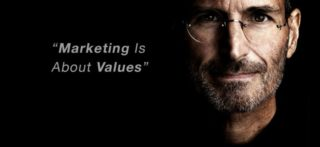 """A Lesson In """"Core Marketing Values"""" From Steve Jobs"""