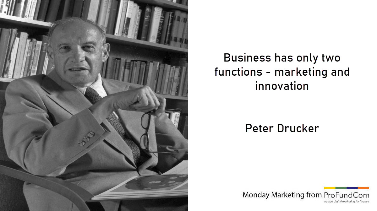 Monday Marketing for Hedge Funds and Asset Managers