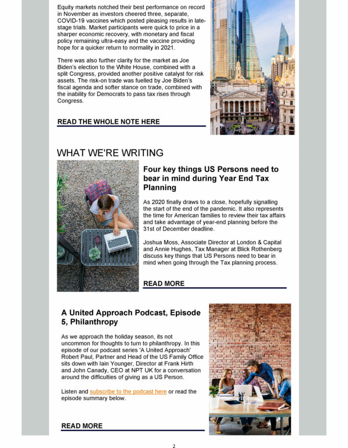 Good Email Examples for Wealth Management